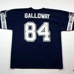 bd2aa520fb3 Logo Athletic Shirts - Joey Galloway Men's Dallas Cowboys Jersey Large